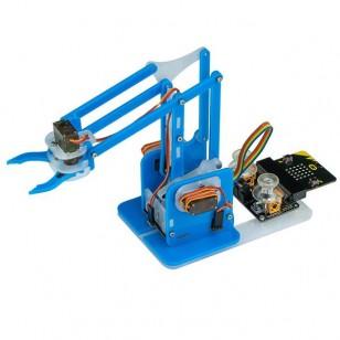 MeArm Micro:bit robotska ruka - plava