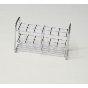 Stalak za epruvete od nerđajućeg čelika 16mm x12