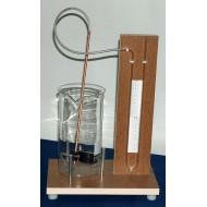 Uređaj za demonstraciju promene pritiska sa dubinom