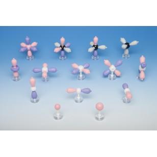 Modeli atomskih orbitala - set 14 modela