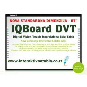 """Interaktivna tabla IQBoard DVT - 87"""""""